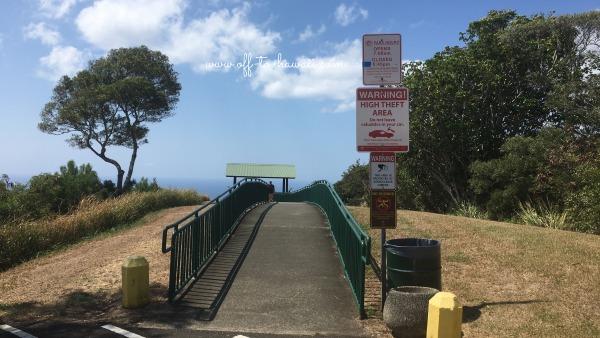 タンタラスの丘展望台の入口
